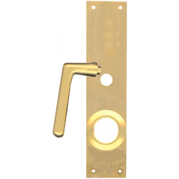 france quincaillerie poign e de porte pour serrure en applique iseo cavith a2p. Black Bedroom Furniture Sets. Home Design Ideas