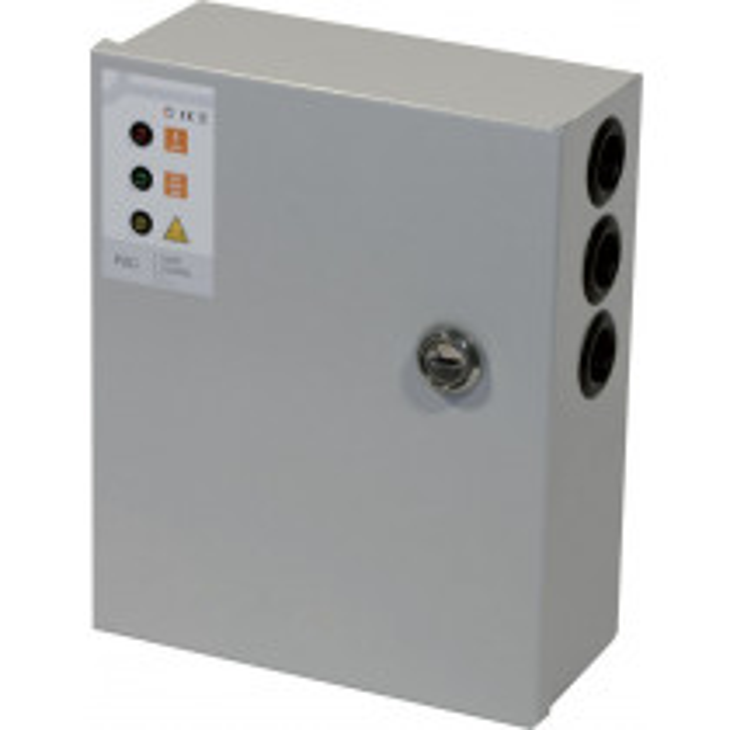 ALIMENTATION EN COFFRET SORTIE 12 VCC TTR Securite - 190 x 320 x 90 - 5 Dim. coffret mm 190 x 320 x 90