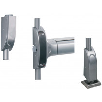 BARRE ANTI-PANIQUE TOUCH BAR 1900 PREMIUM EVOLUTION BM 3 POINTS HAUT BAS ET LATERAL VACHETTE ASSA ABLOY
