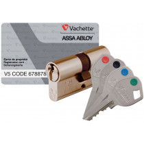 CYLINDRE V5 CODE N1 A2P* LAITON VARIE VACHETTE