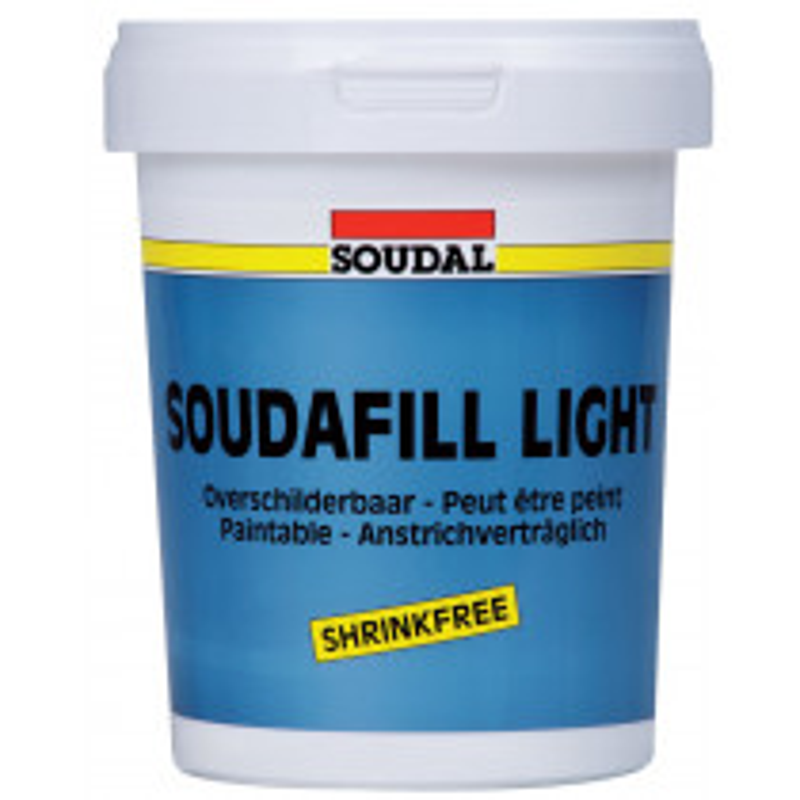 ENDUIT DE REBOUCHAGE SOUDAFILL LIGHT SOUDAL