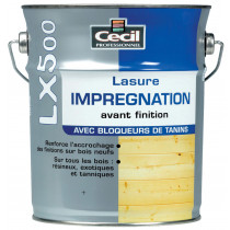 LASURE D'IMPREGNATION LX 500 CECIL