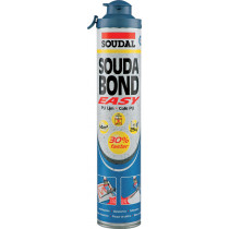 MOUSSE COLLE PU SOUDABOND EASY CLICK & FIX SOUDAL
