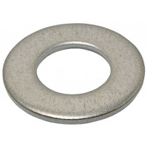 RONDELLE PLATE SERIE M INOX A4