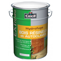 SATURATEUR BOIS RESINEUX EXT'HYDROFUGE CECIL