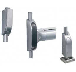 BARRE ANTI-PANIQUE TOUCH BAR 1900 PREMIUM EVOLUTION BM 2 POINTS HAUT ET BAS VACHETTE ASSA ABLOY