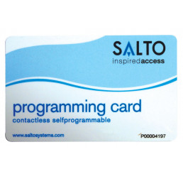 BADGE POUR ENSEMBLE XS4 SALTO - Programmation Type de badge Programmation
