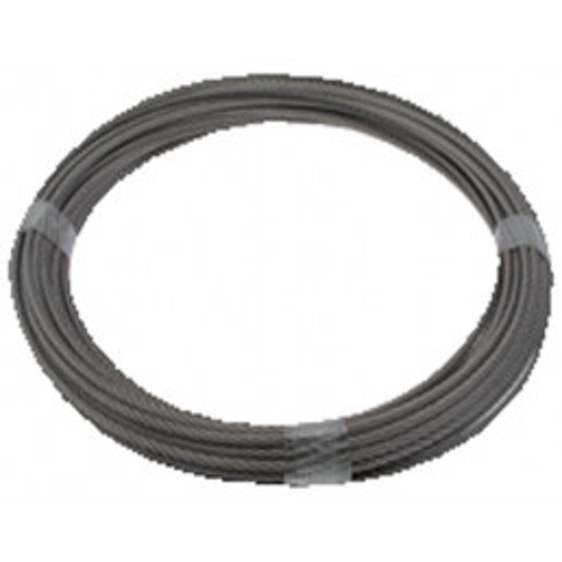 CABLE INOX  - 25 - 6 Rouleau de m 25