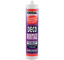 COLLE FIXATION DECO MONTAGE SOUDAL