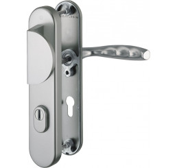 POIGNEE DE PORTE DE SECURITE NEW YORK FINITION INOX HOPPE