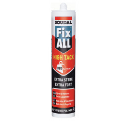 MASTIC-COLLE MS POLYMERE FIX ALL HIGH TACK SOUDAL