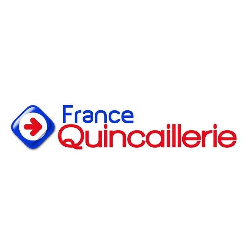 Serrure de porte verre avec bequille ronde Metalux