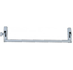 BARRE ANTI-PANIQUE SERIE 89 1 POINT LATERAL JPM - Noir - 950