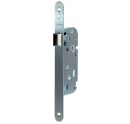 SERRURE ECONOMIQUE AXE 40 MM FINITION ZINGUEE BROSSEE MARQUES