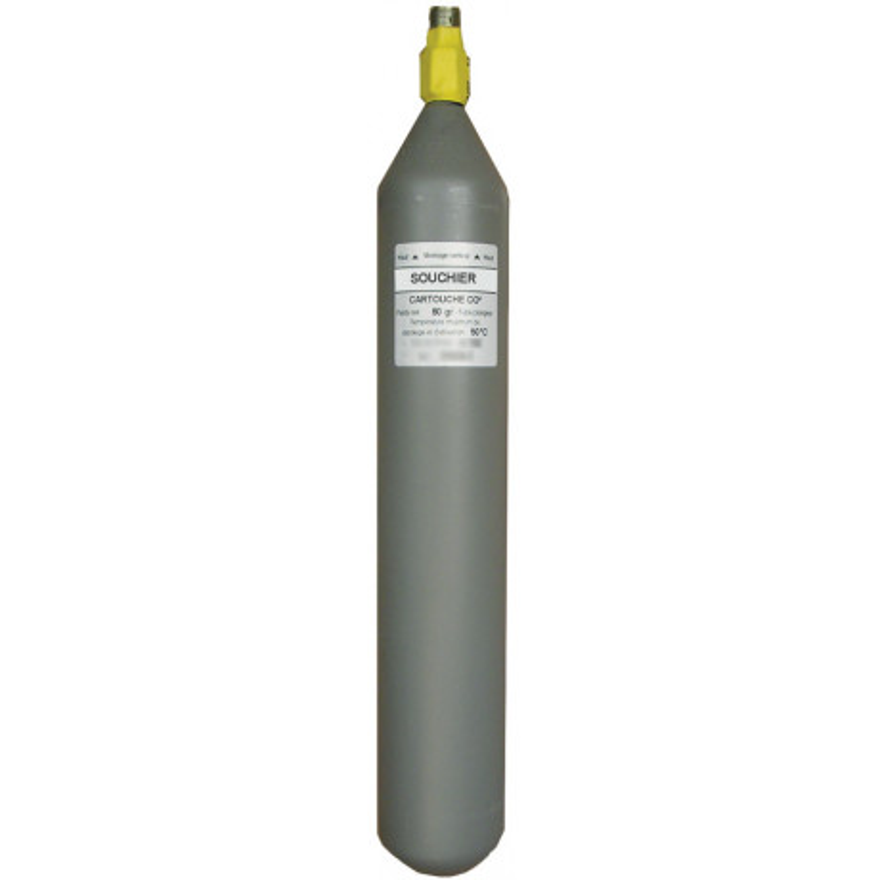 CARTOUCHE CO2 SOUCHIER - 80 Contenance g 80