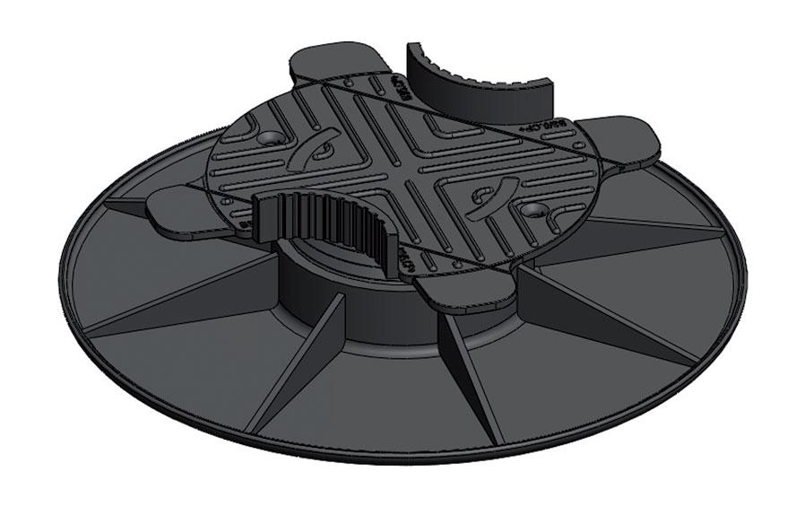 france quincaillerie plot reglable pour lambourde 33 50 haut r glage mm 33 50. Black Bedroom Furniture Sets. Home Design Ideas
