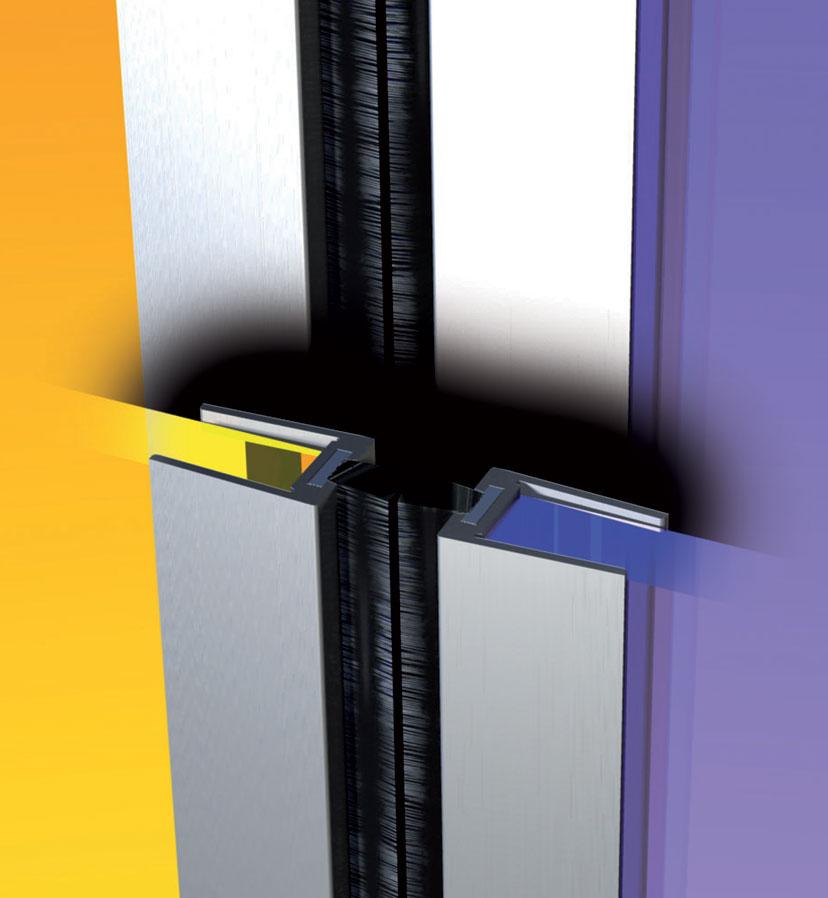 France Quincaillerie  Profile DIsolation Aluminium Pour Porte En