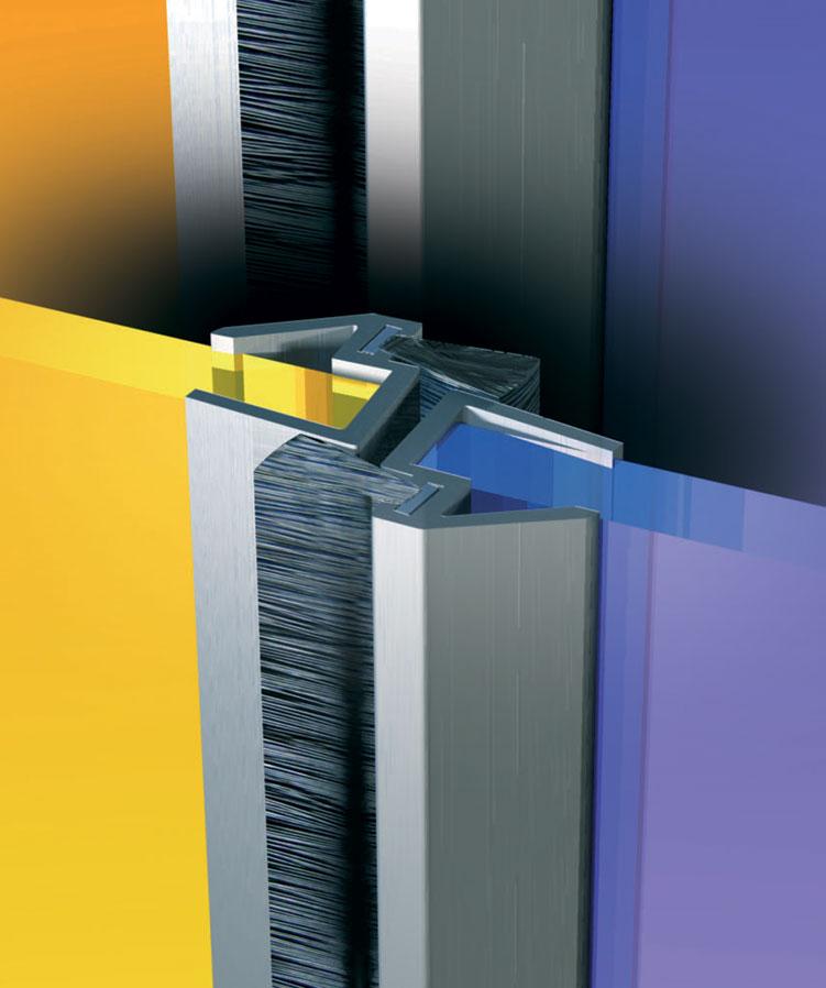 france quincaillerie profile d 39 isolation aluminium pour porte en verre gds ellen france. Black Bedroom Furniture Sets. Home Design Ideas